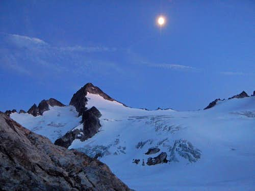 Snowfield At Night