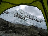 Alpamayo from Within my Tent