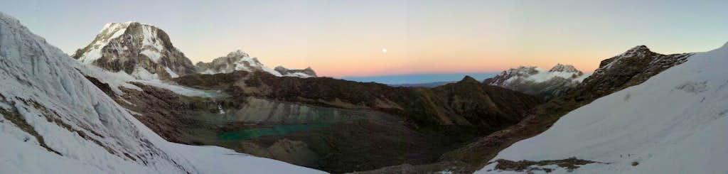 View from Ishinca