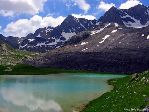 Marinet Lakes and Chambeyron Group, Ubaye