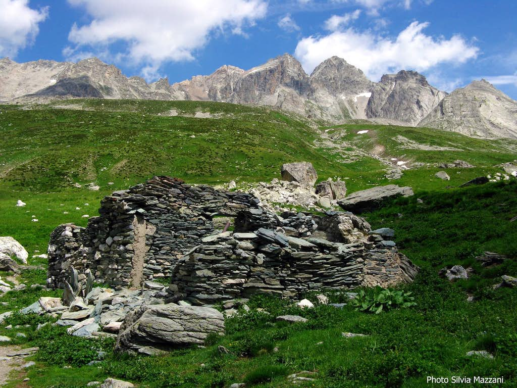 Ruins of an ancient alp in Mary Valley
