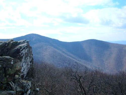Hawksbill Mountain - 4051'...