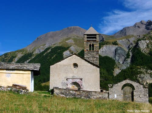 Maljasset ancient church, Ubaye