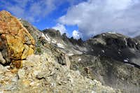 Tenmile Range from Quandary Peak's west ridge