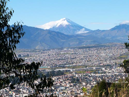 Cotopaxi and South Quito