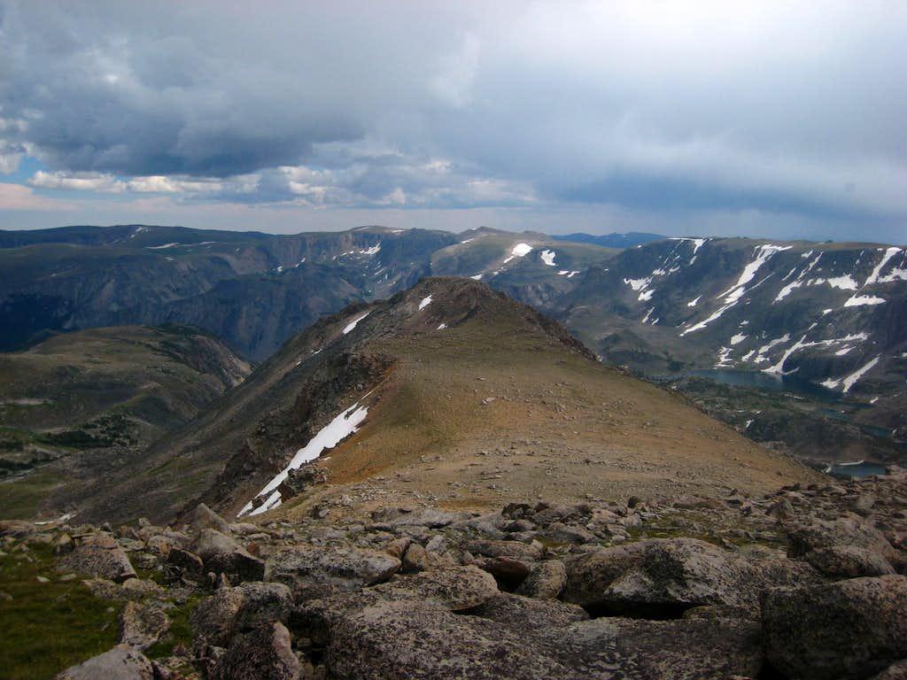 Metcalf Mountain south slopes