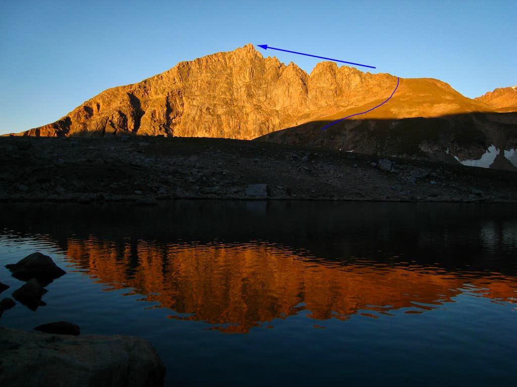 Metcalf Mountain North Rib