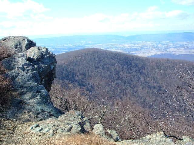 View to the Shenandoah Valley...