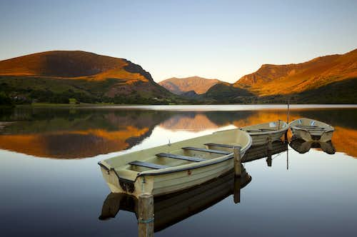 Snowdon from Nantlle Lake