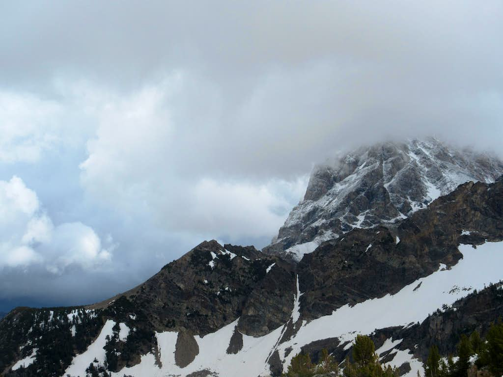 A view of the Grand from Hurricane Pass