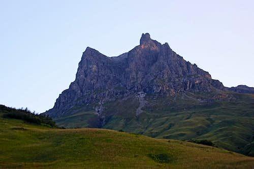 Widderstein from Hochtannbergpass