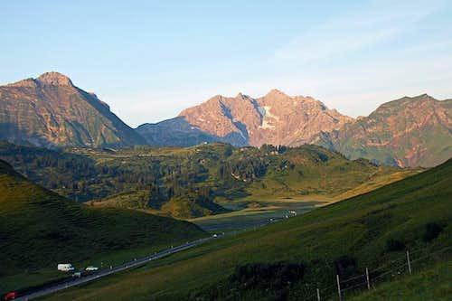 Hochtannbergpass and Braunarlspitze