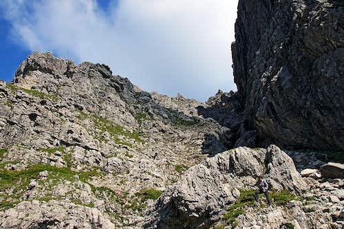 Widderstein south gorge