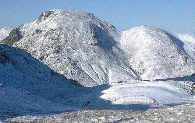 The English Lake District Under Snow