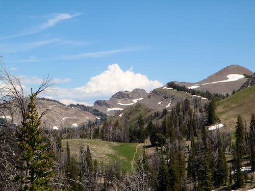 Various Peaks on the Turquoise Lake Trail