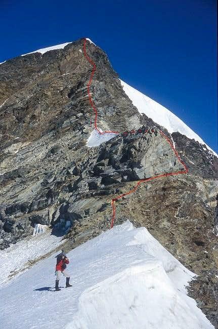 Piramide Vincent SE-ridge as...