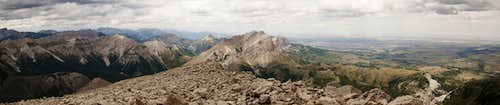 Old Man of the Hills from the Summit of Mount Frazier
