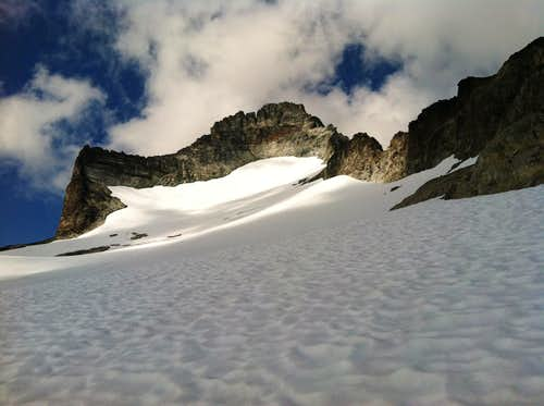 Mt. Redoubt From The Upper Glacier