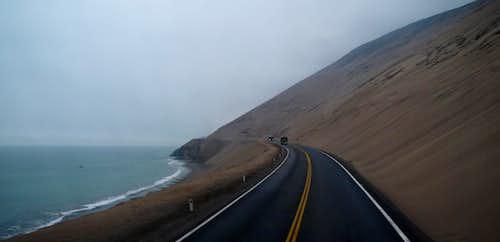 Views along the Pacific Ocean