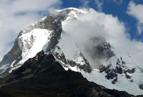 Huascaran Massif from Lake 69