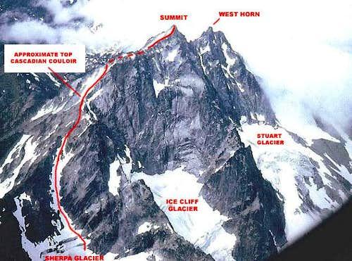 Sherpa Glacier Route, Mount Stuart