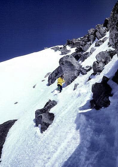 On east ridge of Mount Stuart