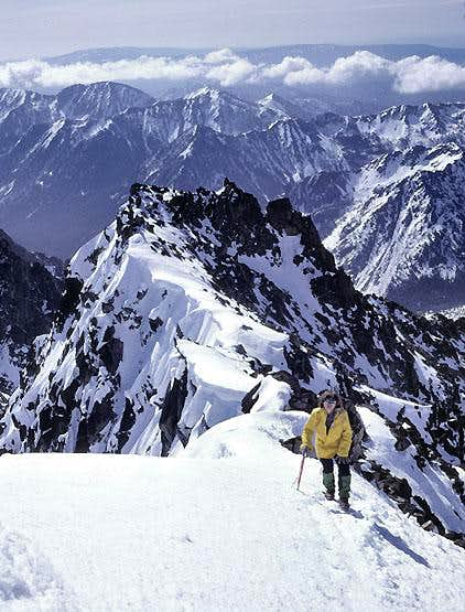 On the east ridge of Mount Stuart