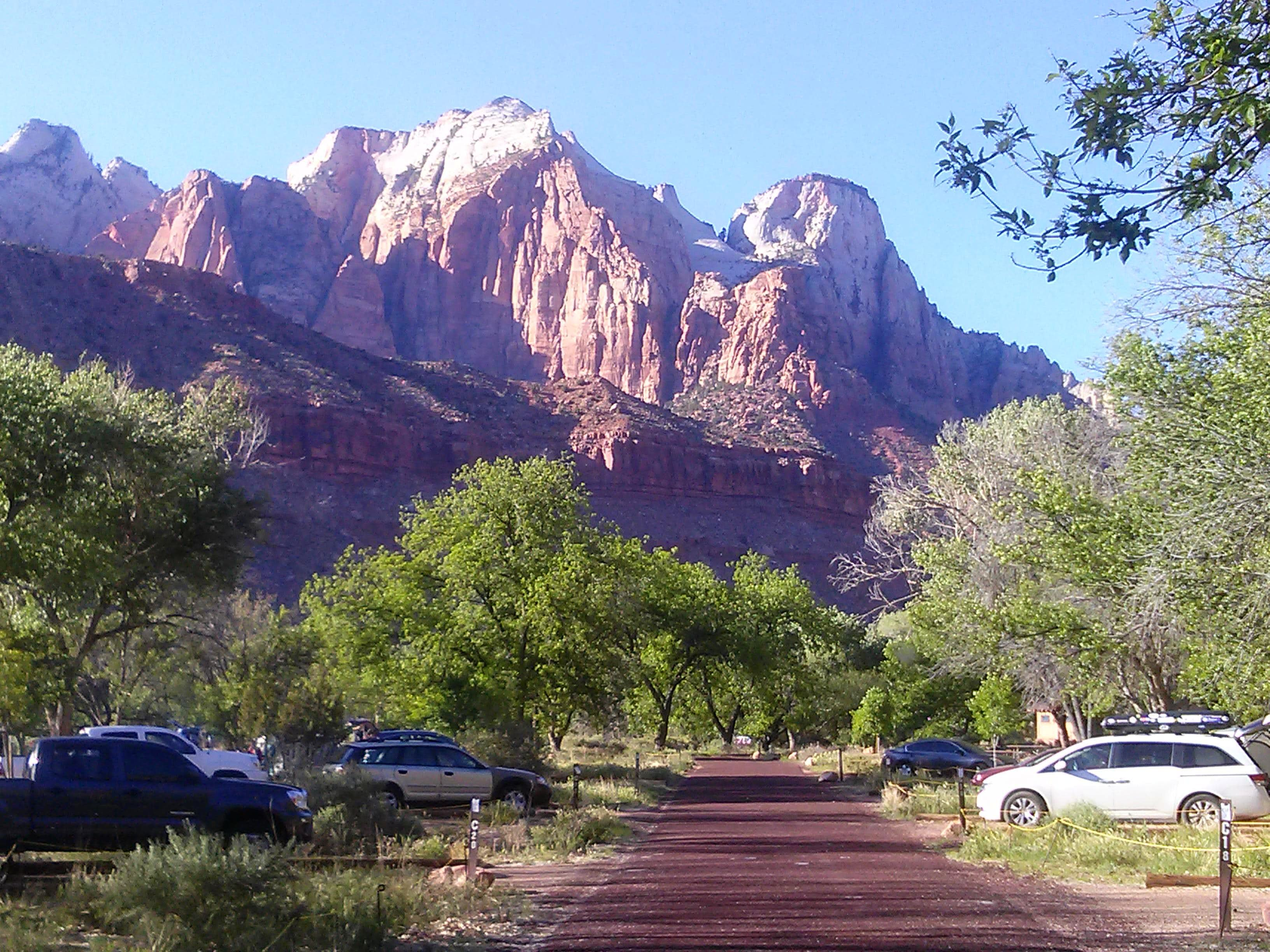 Watchman Campground Zion
