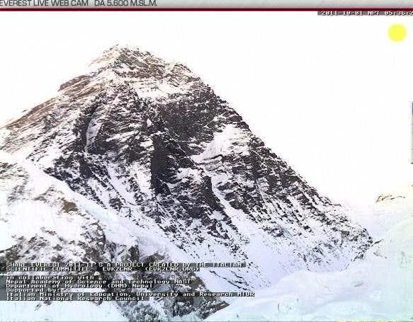 Everest webcam