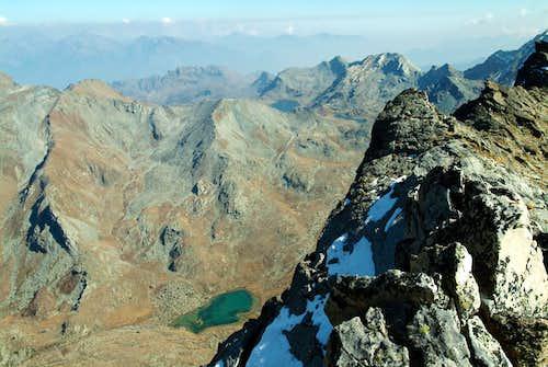 Gran Rossa & Margheron Lake from M. Rafray 2003