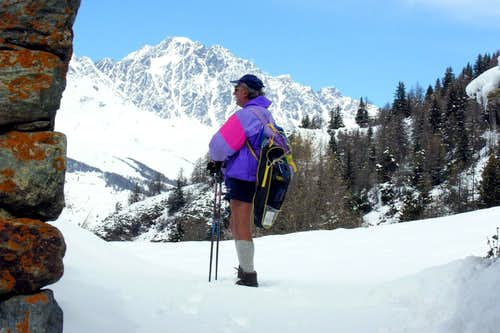 WANDERING ... by SNOWSHOES To Mont Velan 2005