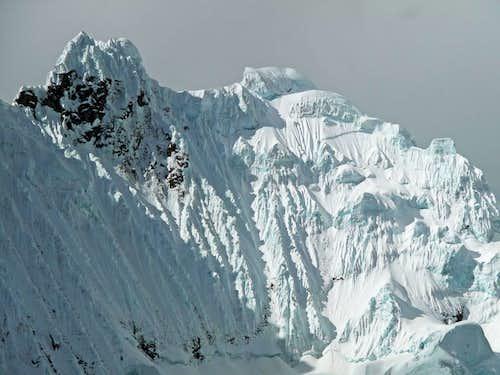 Ice Flutings on Pucajirca