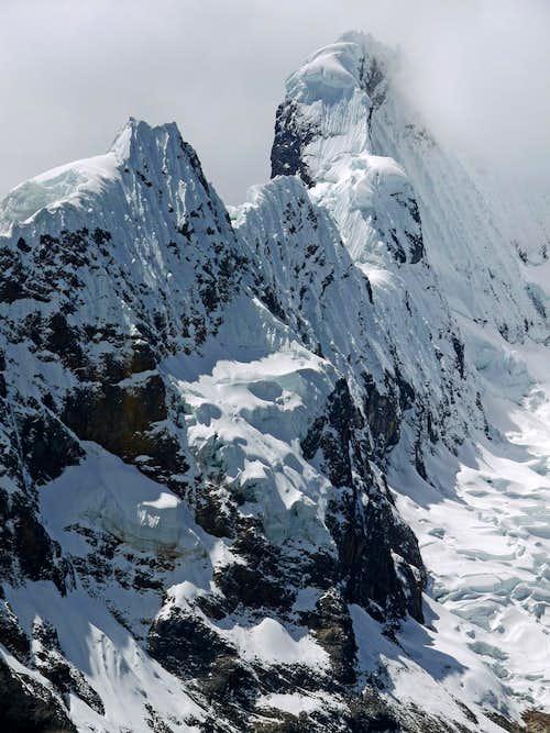 The Snow Loaded Ridges of Pucajirca