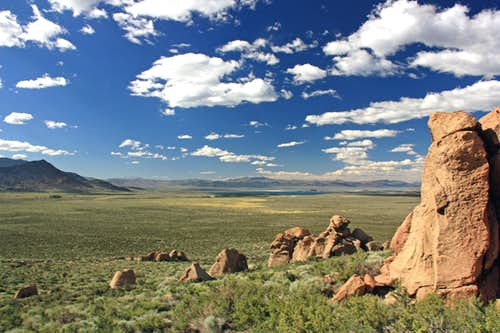 Mono Basin from Aeolian Buttes