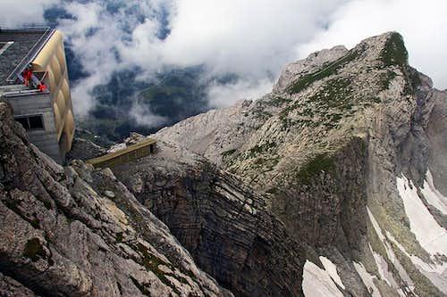 Saentis N ridge