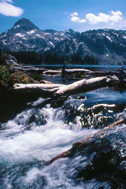 Craig Mountain from Ice Lake....
