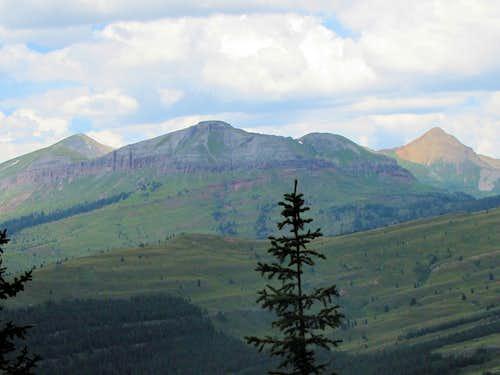 Peak 13042 ft (Silverton area)