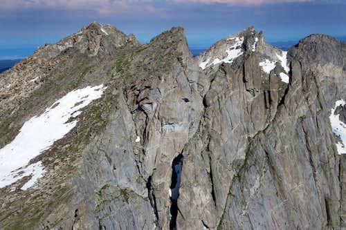 Warrior 2, Warrior 1, Pylon Peak, South Watchtower