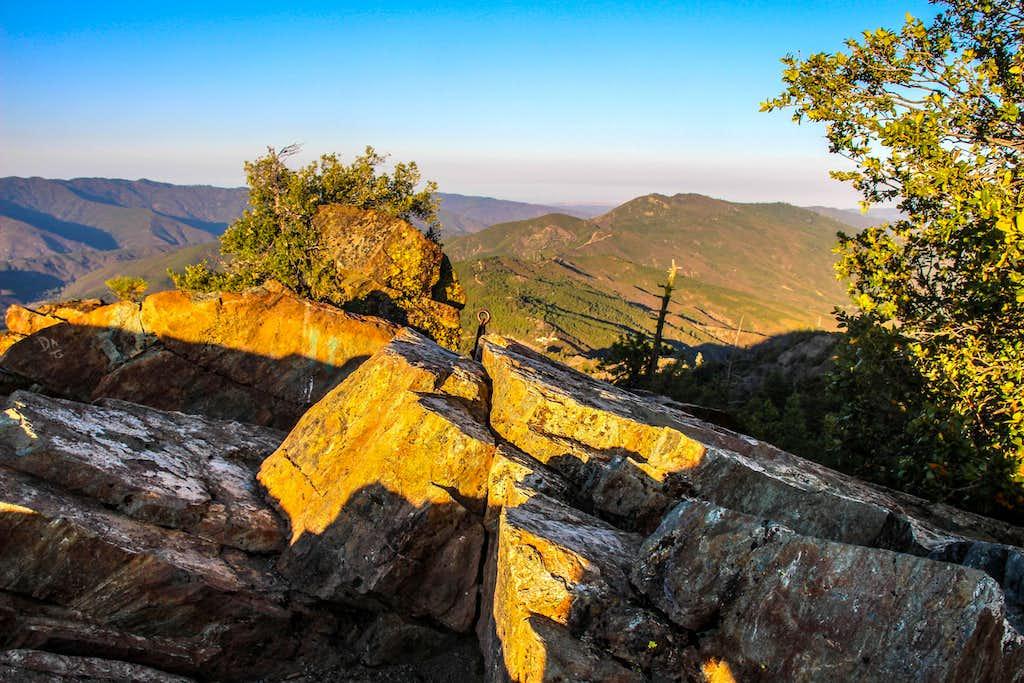 East from Pinnacle Rock