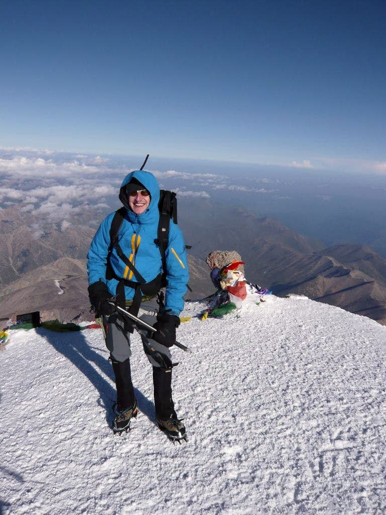 2014 Mount Elbrus North Route