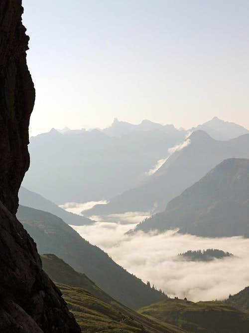 In Widderstein south gorge