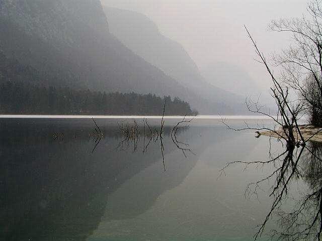 Bohinj lake is one of those...