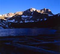Mt. Alice just after sunrise...