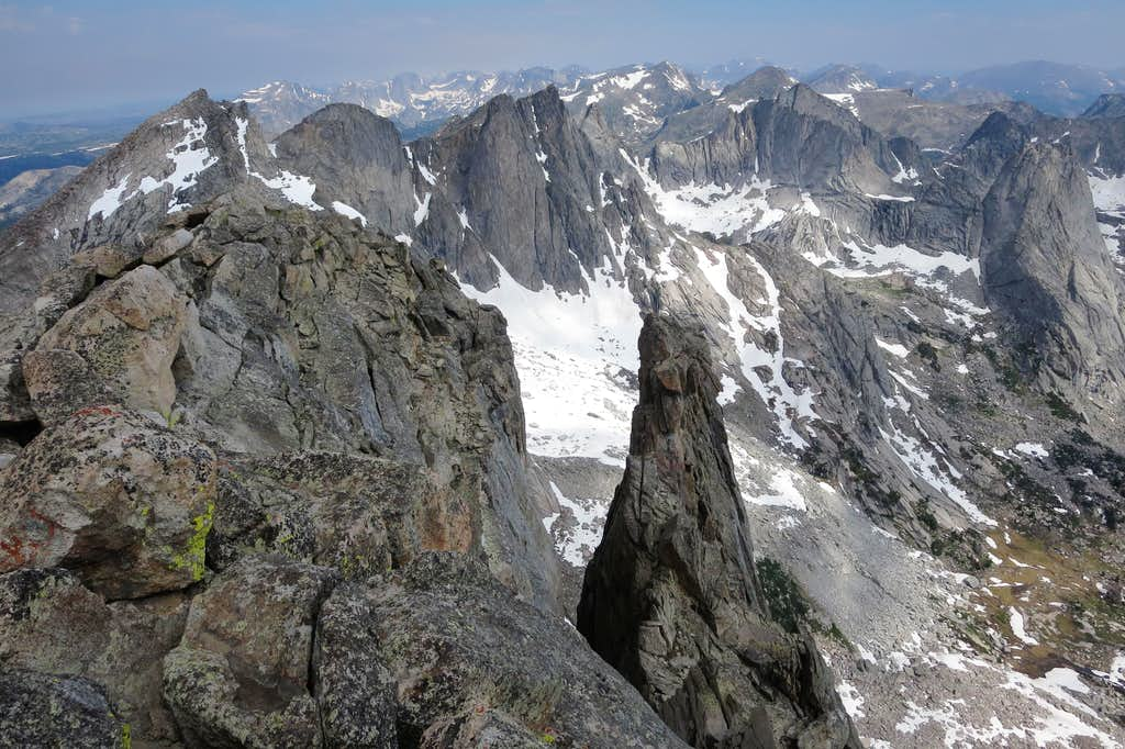 Spire on Warrior 2, Cirque of the Towers
