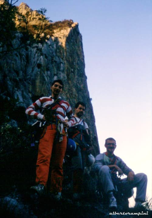 Climbing memories: Piccolo Dain in the Eighties