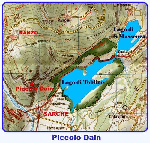 Piccolo Dain map
