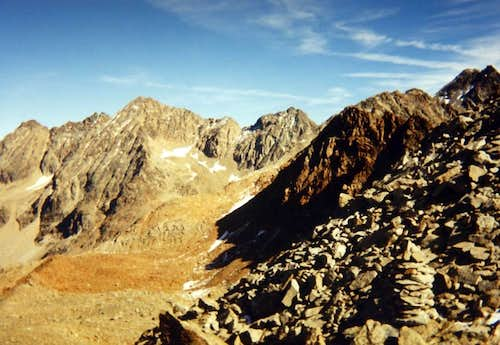 Lussert/Leppe/Garzotto & Roises from Laures Pass 1994