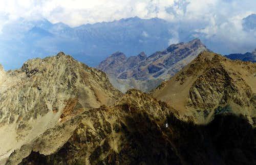 Punta di Lussert from Emilius to Lussert & Leppe 1998