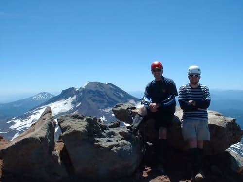 Ed and Art on the summit....