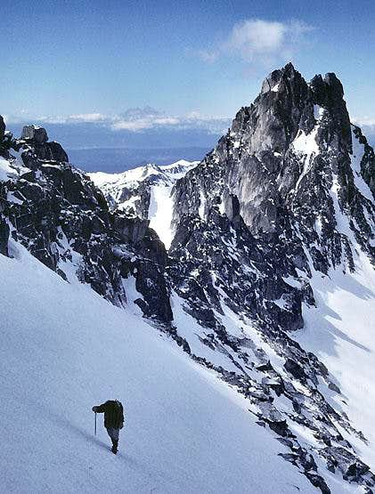 West Route of Dragontail Peak.